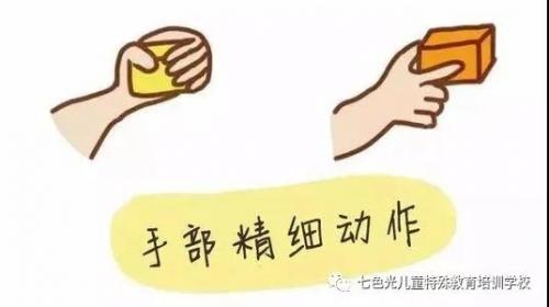 关于精细训练的手指数字练习部分